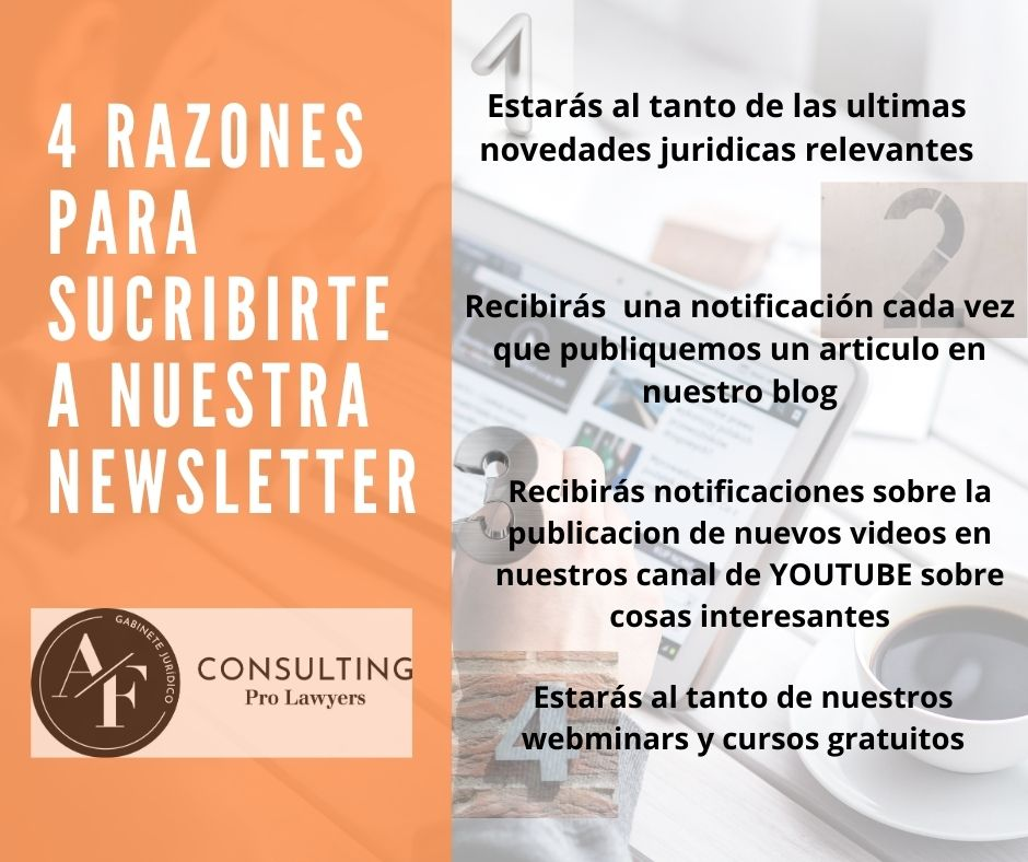 AFCONSULTING ABOGADOS NEWSLETTER