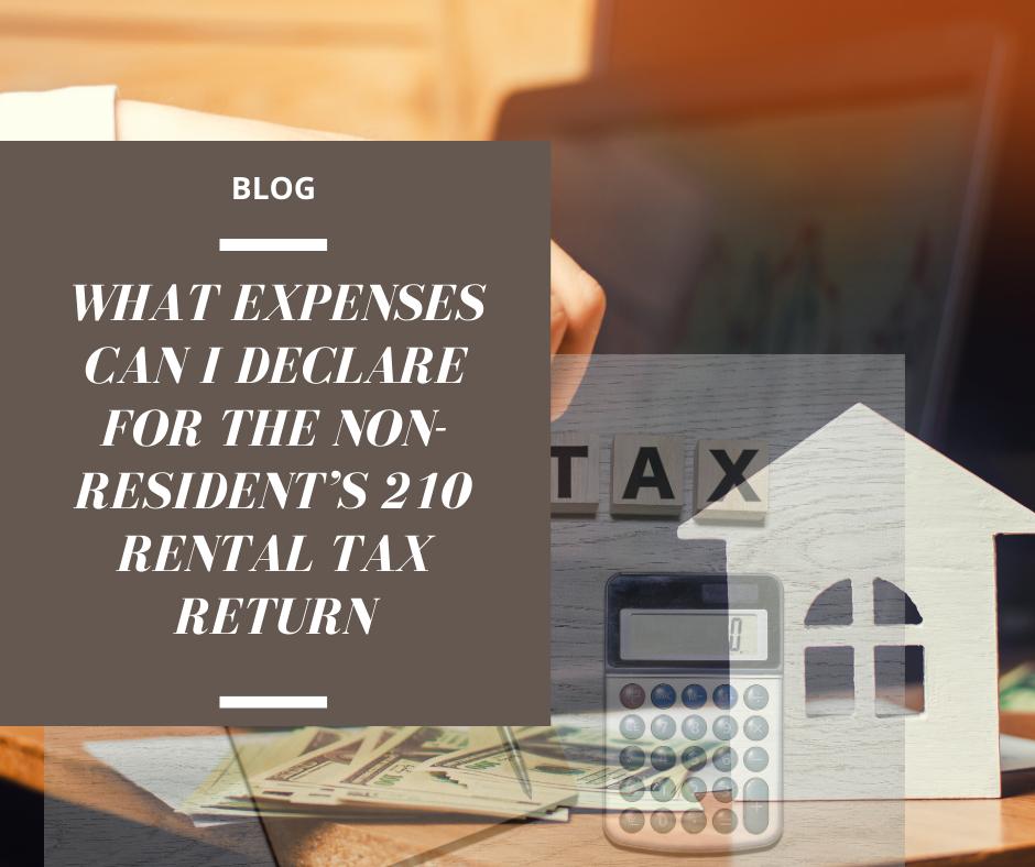 RENTAL TAX TAXES SPAIN SPANISH 210 NON RESIDENT