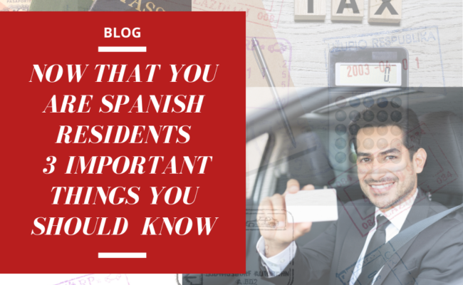 SPAIN SPANISH RESIDENCY RESIDENCIA TAX TAXES